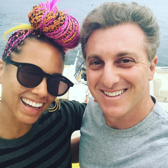 Alicia Keys, Luciano Huck, Instagram
