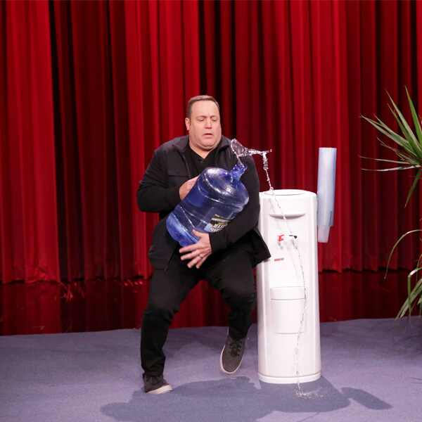 Kevin James, Falls Over