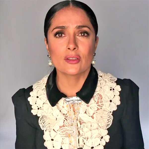 Salma Hayek, Instagram
