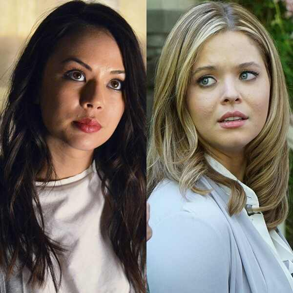 Sasha Pieterse,Janel Parrish, Pretty Little Liars