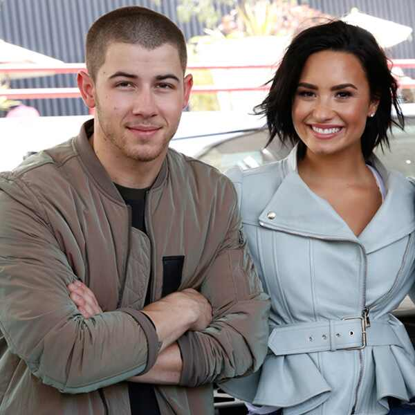 Nick Jonas, Demi Lovato, James Corden, The Late Late Show