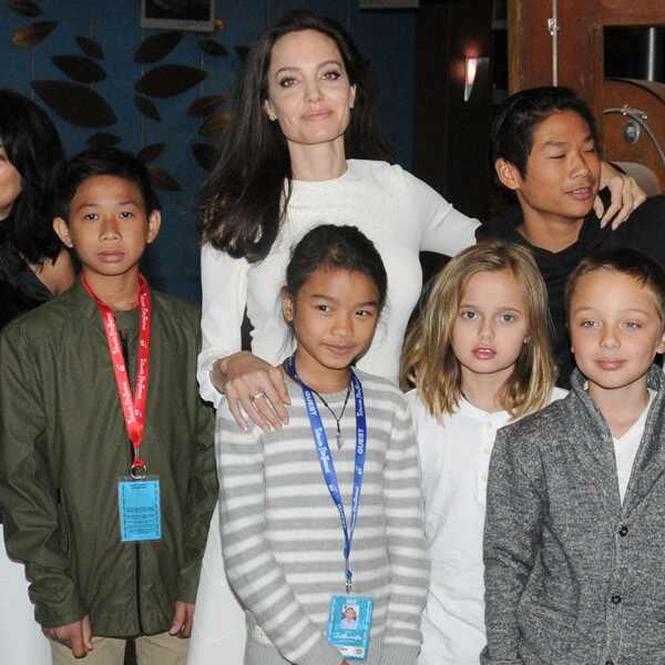 Angelina Jolie, Kids, Telluride Film Festival 2017