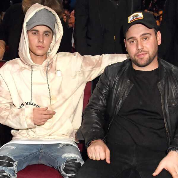 Justin Bieber, Scooter Braun