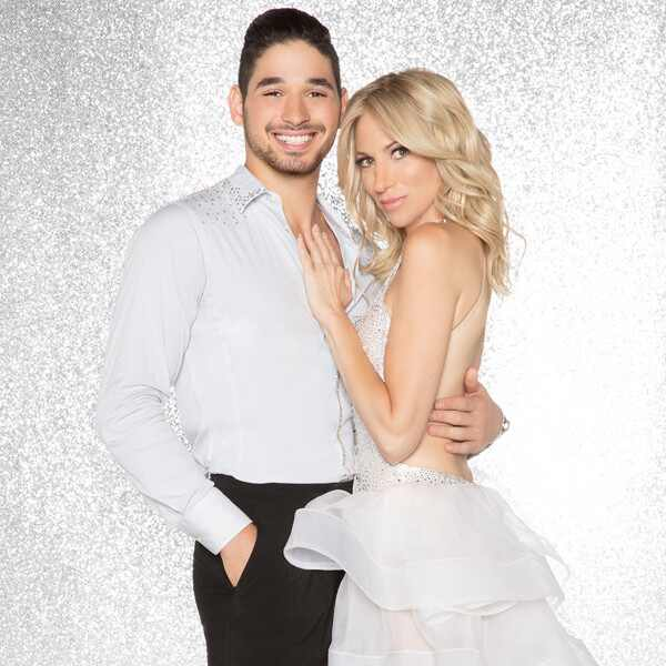 Debbie Gibson and Alan Bersten, DWTS