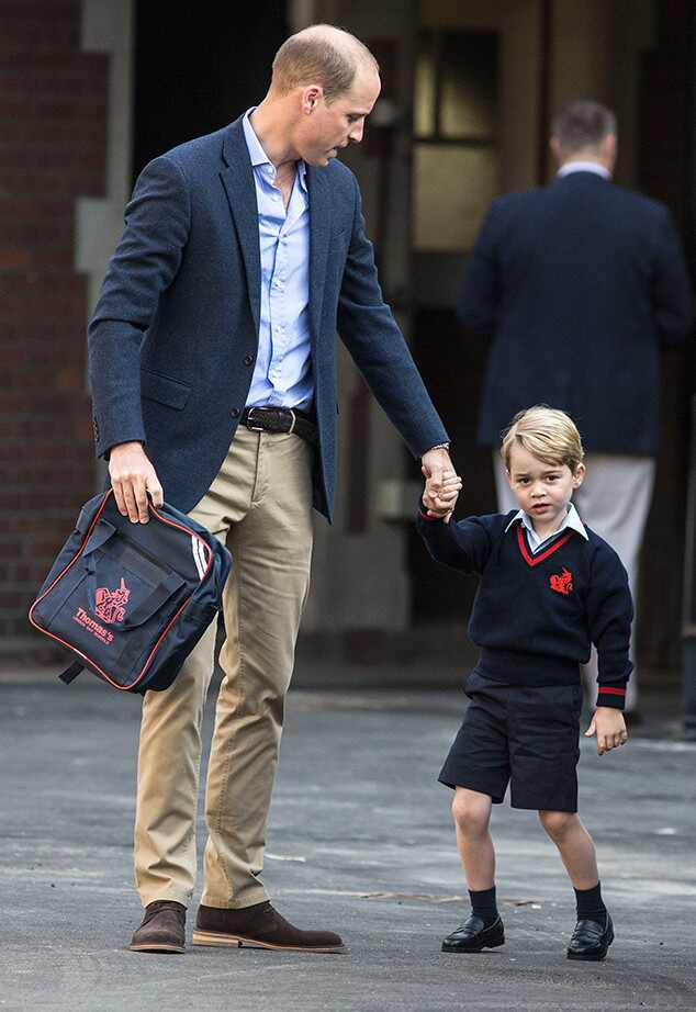 Prince George, Prince William, Thomas