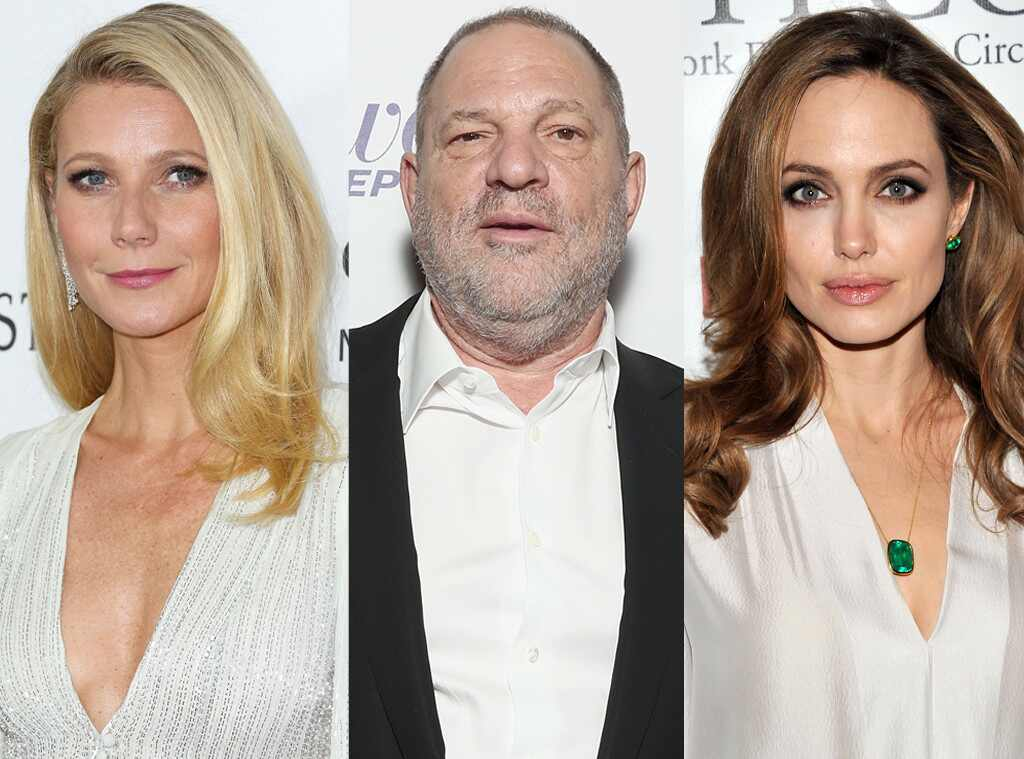 Angelina Jolie, Gwyneth Paltrow, Harvey Weinstein