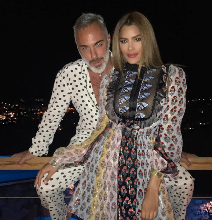 Gianluca Vacchi asegura que su romance con Ariadna Gutiérrez nunca existió