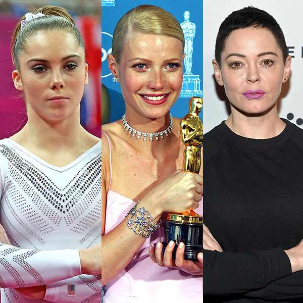 McKayla Maroney, Gwyneth Paltrow, Rose McGowan