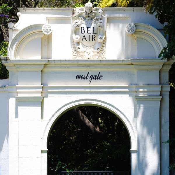 Bel Air Entrance, Gate