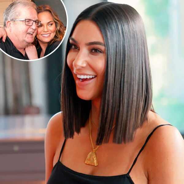 Chrissy Teigen, Kim Kardashian