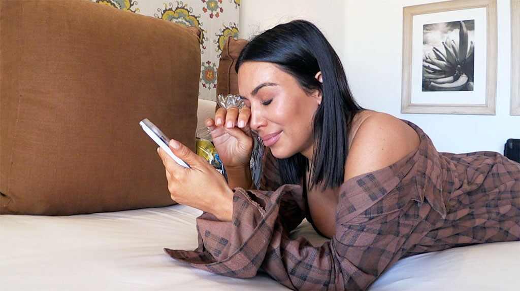 Kim Kardashian, KUWTK 1402, Crying