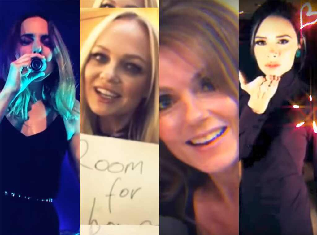 Mel C, Melanie C, Spice Girls, Reunion, Room for Love Video, Emma Bunton, Geri Horner, Victoria Beckham, Geri Halliwell