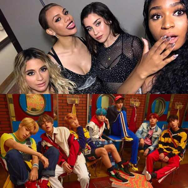 Fifth Harmony, BTS