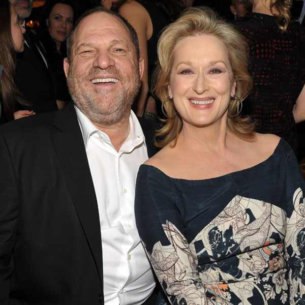 Harvey Weinstein, Meryl Streep