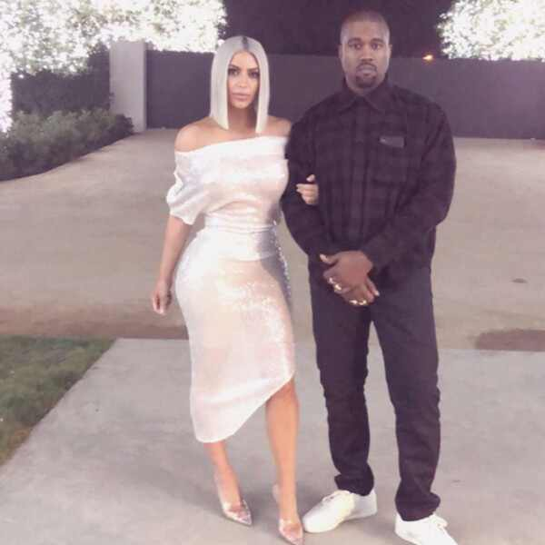 Kim Kardashian, Kanye West, New Year's Eve