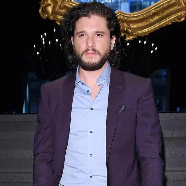 Kit Harington, Milan Men's Fashion Week 2018