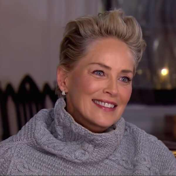 Sharon Stone, CBS Sunday Morning