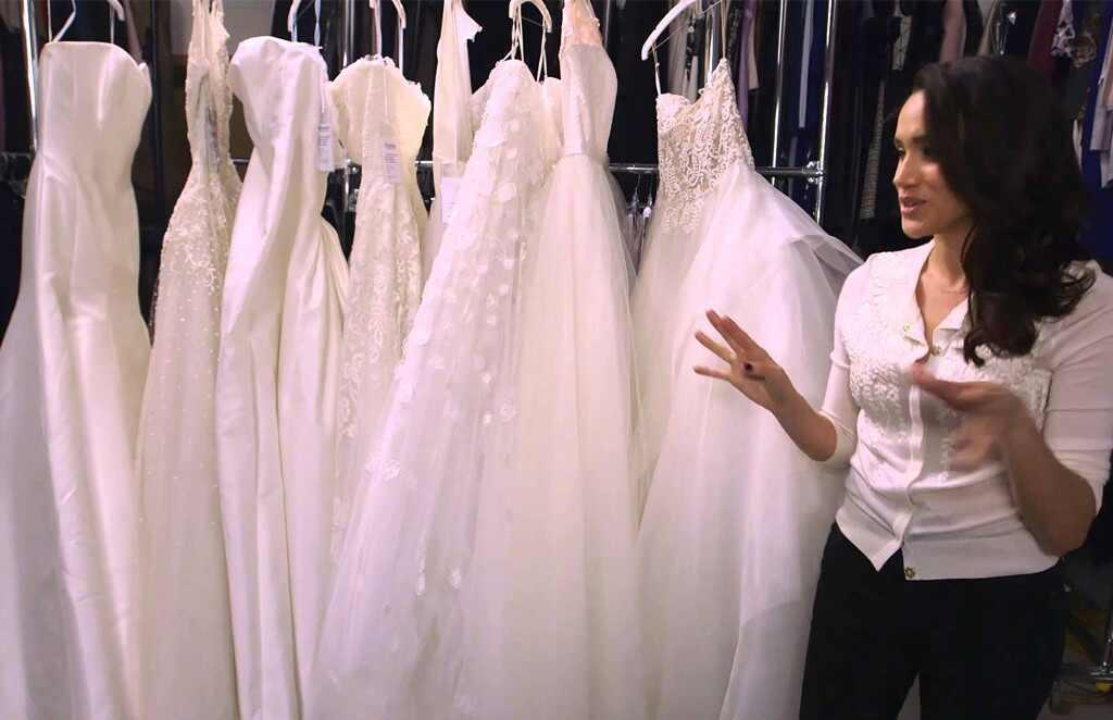 La guerra detrás del vestido de novia de Meghan Markle | E! Online ...