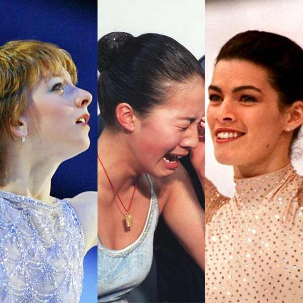 Olympic Figure Skating, Sarah Hughes, Nancy Kerrigan, Michelle Kwan
