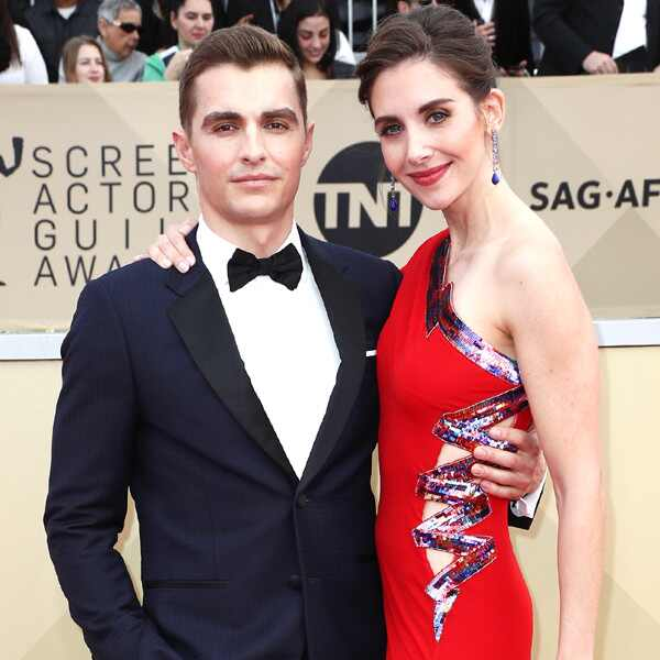Dave Franco, Alison Brie, 2018 SAG Awards, Couples