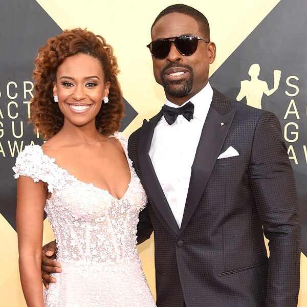 Ryan Michelle Bathe, Sterling K. Brown, 2018 SAG Awards, Couples