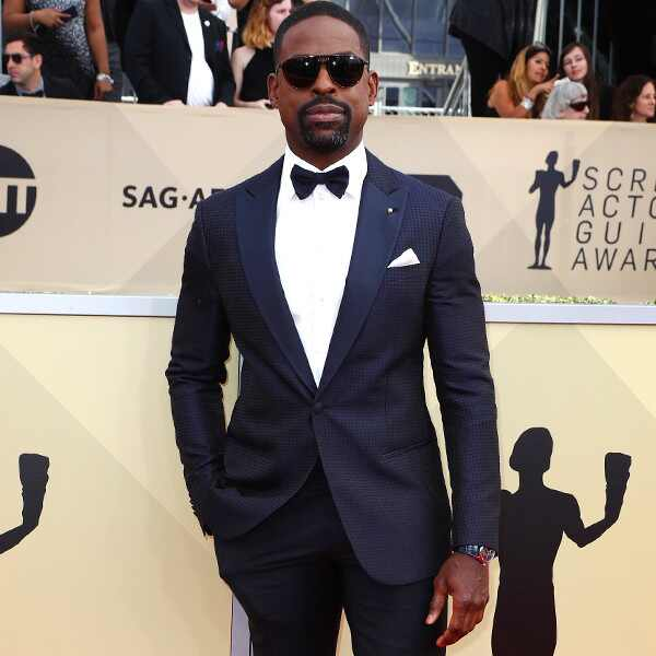 Sterling K. Brown, 2018 SAG Awards, Red Carpet Fashions