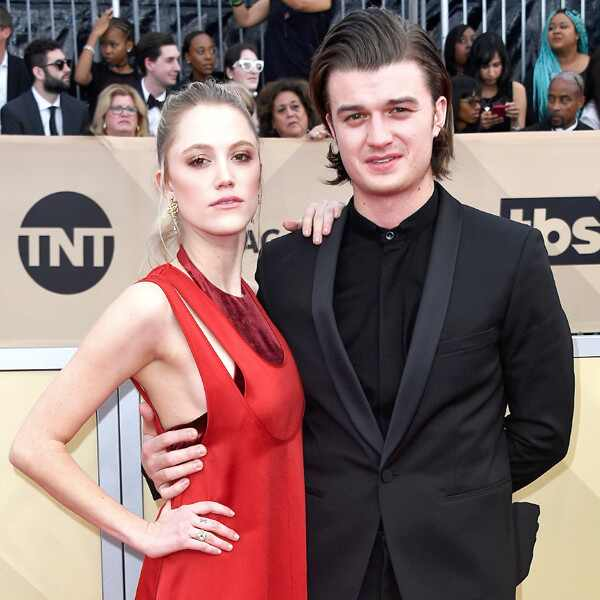 Maika Monroe, Joe Keery, 2018 SAG Awards, Couples
