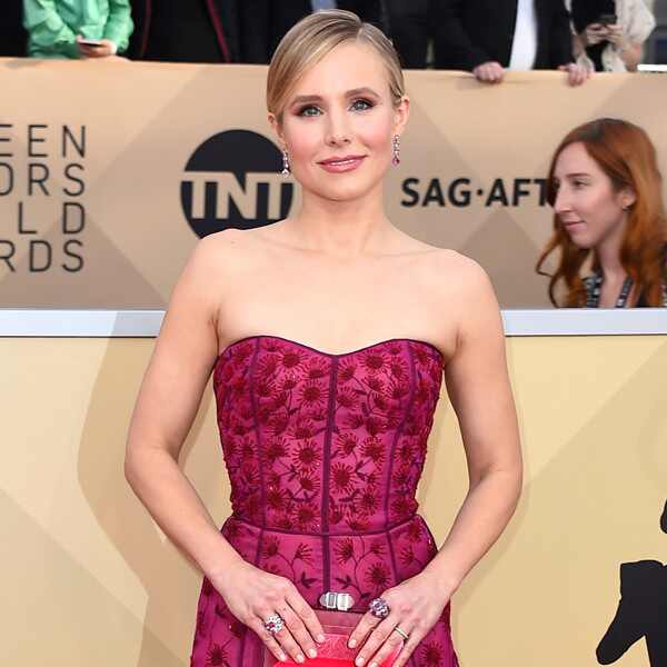 Kristen Bell, 2018 SAG Awards, Red Carpet Fashions