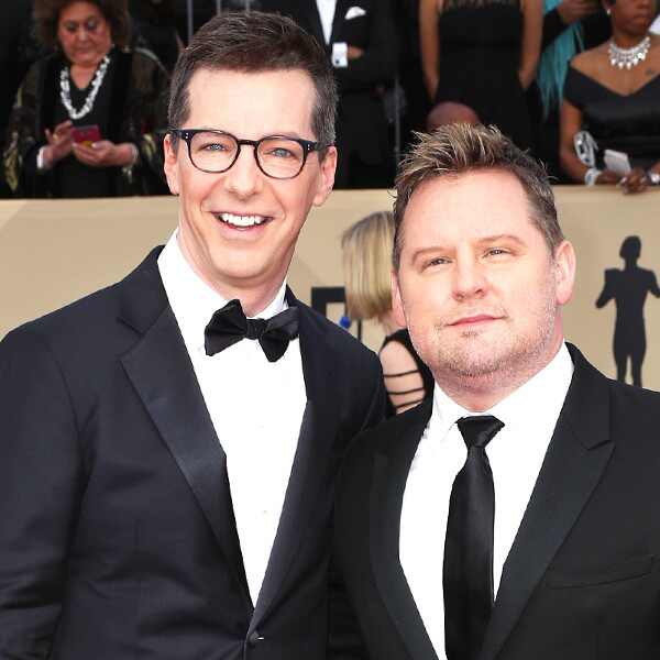 Sean Hayes, Scott Icenogle, 2018 SAG Awards, Couples