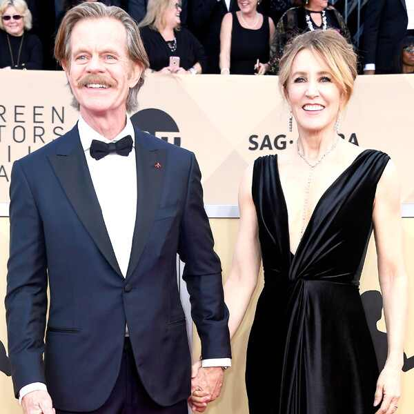 William H. Macy, Felicity Huffman, SAG Awards, Couples