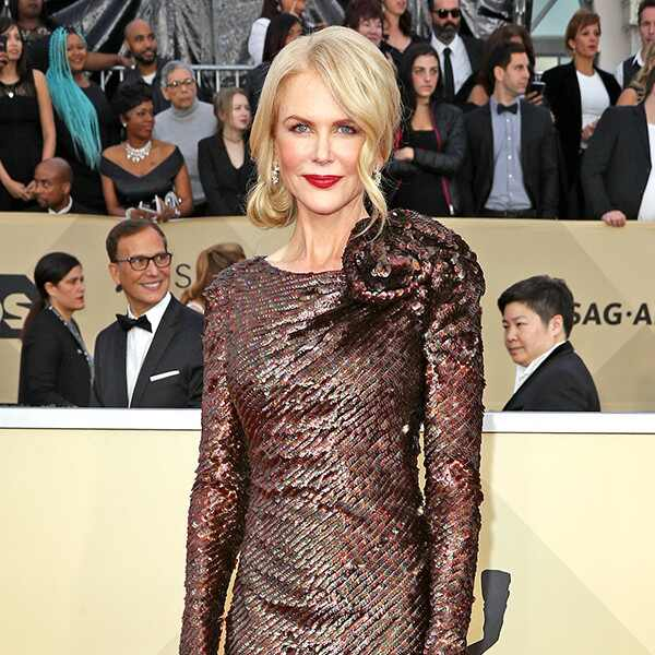 Nicole Kidman, 2018 SAG Awards, Red Carpet Fashions
