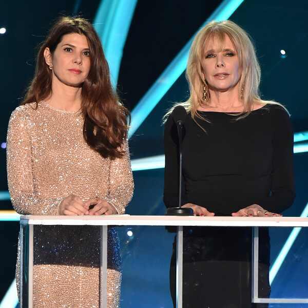 Marisa Tome, Rosanna Arquette, 2018 SAG Awards