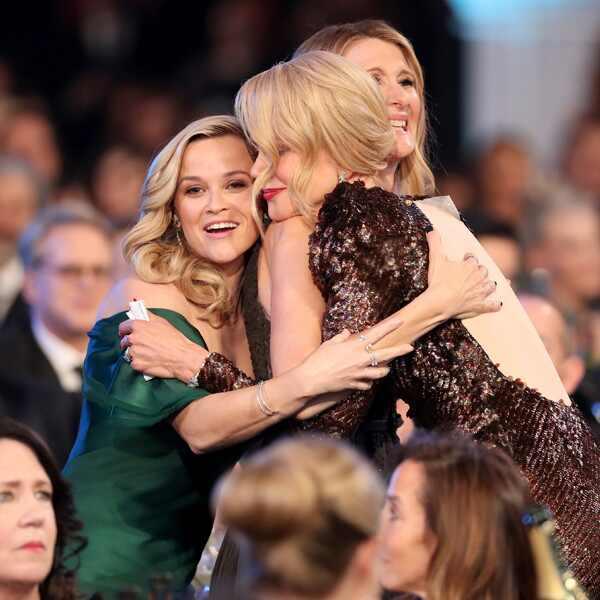 Nicole Kidman, Reese Witherspoon, Laura Dern, 2018 SAG Awards, Candids