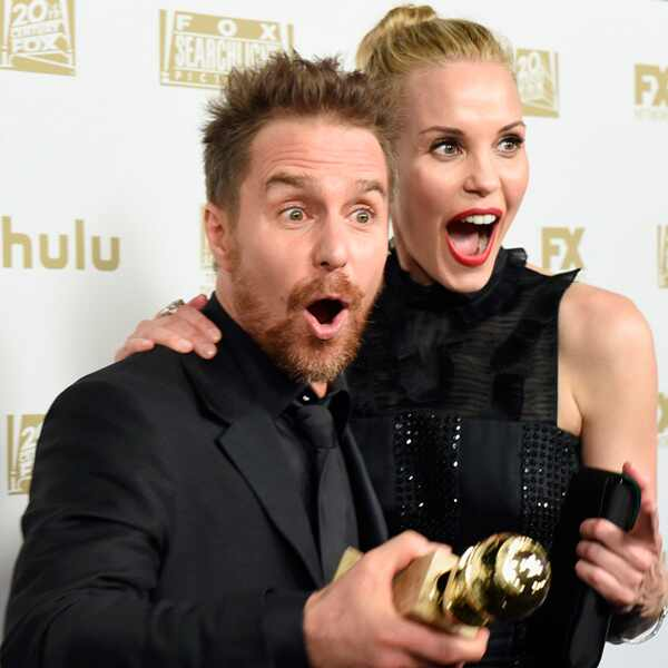 Sam Rockwell, Leslie Bibb, Golden Globe Awards, Golden Globes, 2018
