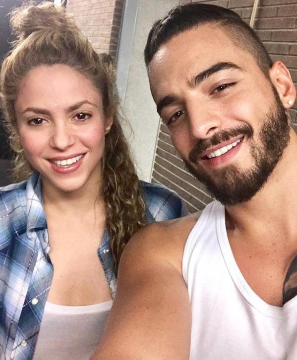 ¡Shakira y Maluma se bañan juntos!