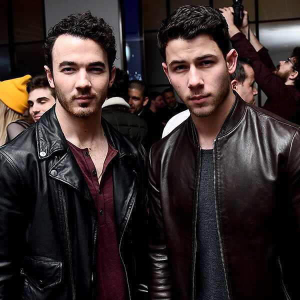 Kevin Jonas, Nick Jonas, Republic Records, Pre-Grammy Party, 2018 Grammys