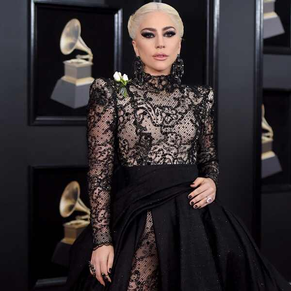 Lady Gaga, 2018 Grammy Awards, Red Carpet Fashions