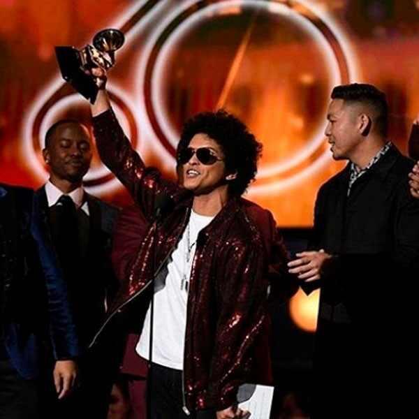 Bruno Mars, 2018 Grammy Awards