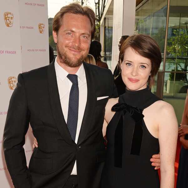 Casamento. Foto do site da E! Online que mostra Claire Foy, de The Crown, e Stephen Campbell se separam após 4 anos de casamento