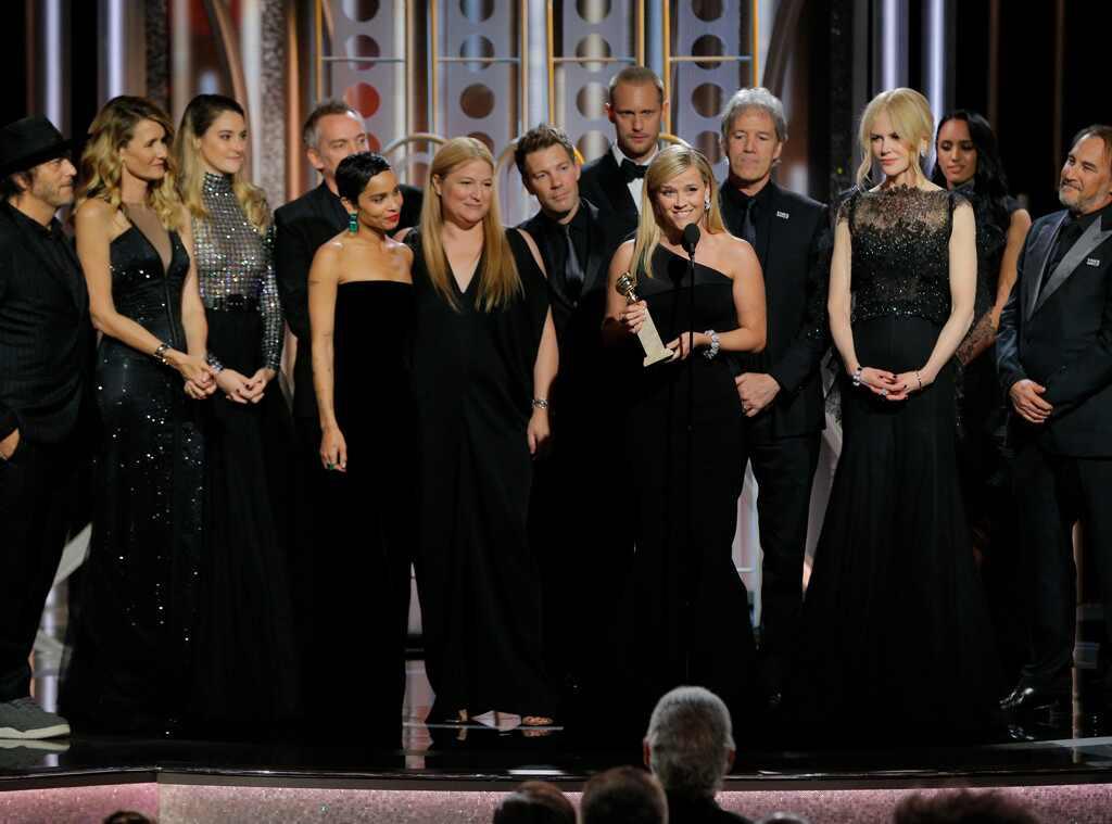 Reese Witherspoon, Big Little Lies, Golden Globes, 2018 Golden Globes, Winner