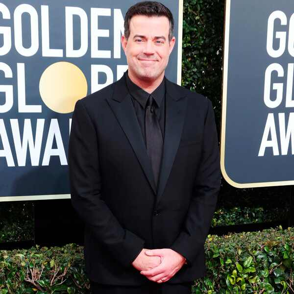 Carson Daly, 2018 Golden Globes, Red Carpet Fashions