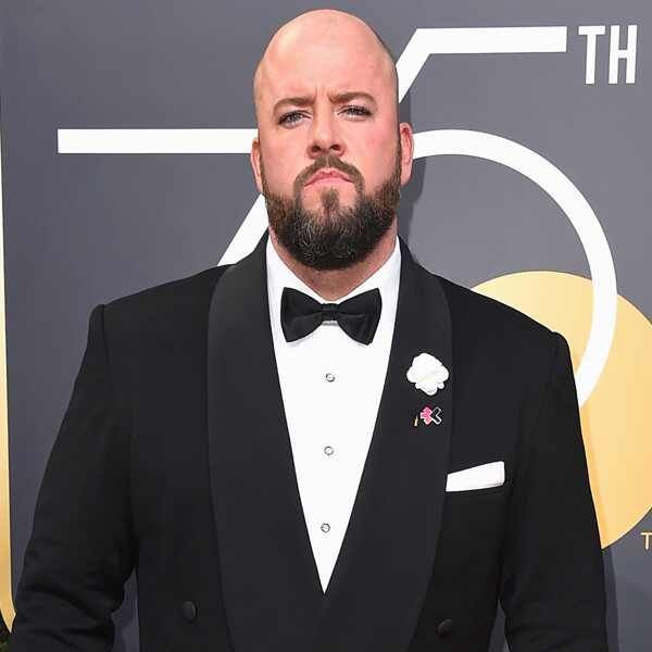 Chris Sullivan, 2018 Golden Globes, Red Carpet Fashions