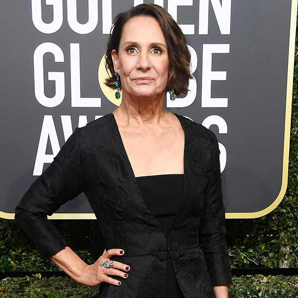 Laurie Metcalf, 2018 Golden Globes, Red Carpet Fashions
