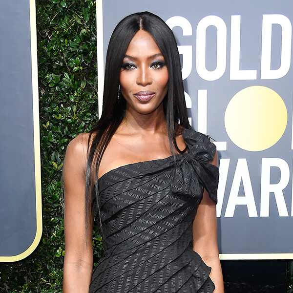 Naomi Campbell, 2018 Golden Globes, Red Carpet Fashions