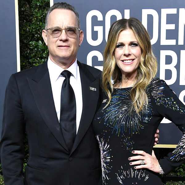 Tom Hanks, Rita Wilson, 2018 Golden Globes, Couples