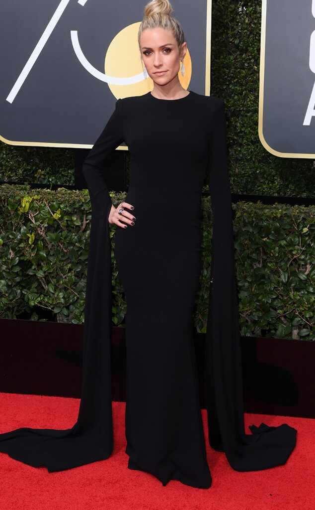 Kristin Cavallari, 2018 Golden Globes, Red Carpet Fashions