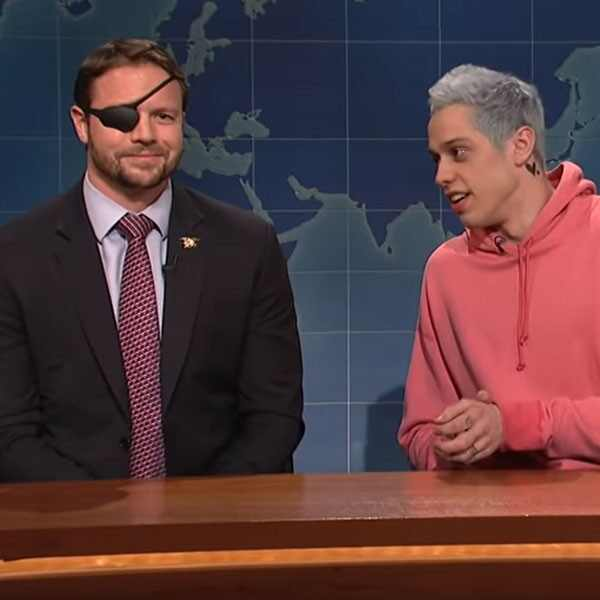 Dan Crenshaw, Pete Davidson, Saturday Night Live
