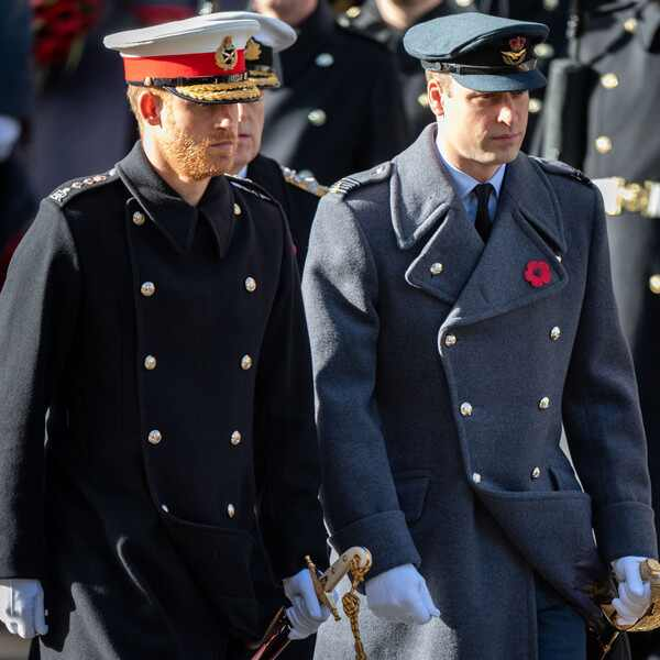 Prince Harry, Prince William, Remembrance Day