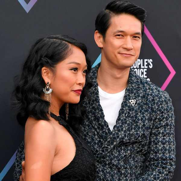 Harry Shum Jr.,Shelby Rabara, 2018 Peoples Choice Awards, Couples