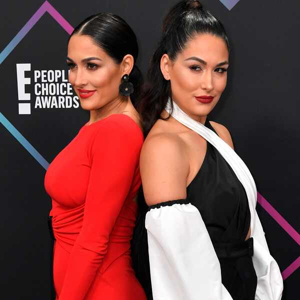 Brie Bella, Nikki Bella, 2018 Peoples Choice Awards, PCA's